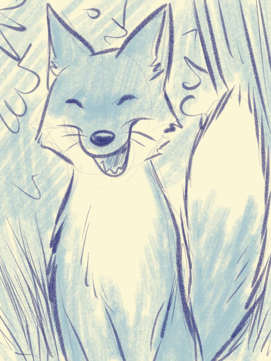 11.Moi c'est le renard, tu eux m'en dessinner un - Fox.jpg